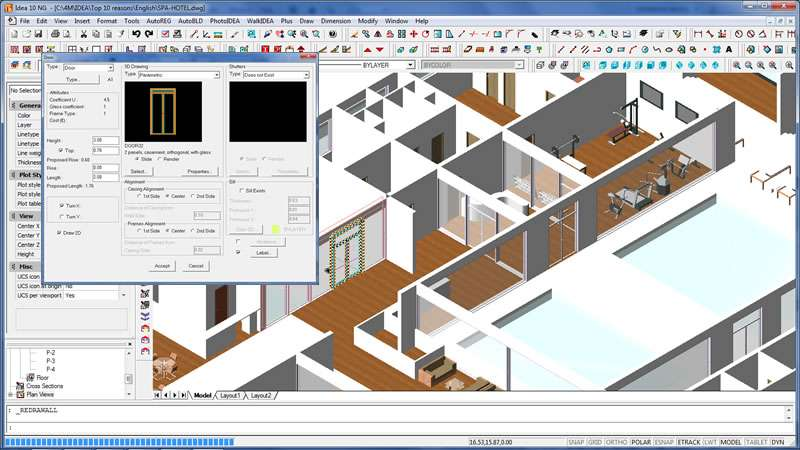 Recursos arquitectónicos útiles y atractivos